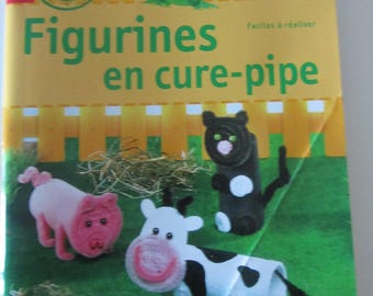 """""""Pipe cleaner Figurines"""" book - easy - to play"""