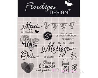 """""""Our wedding"""" anthologies Design embellishment scrapbooking.* clear stamps"""