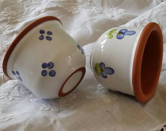 Small Terracotta Cups Set