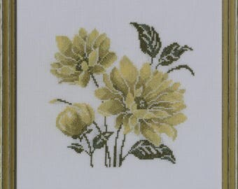 """Embroidery picture """"Flowers"""""""