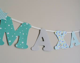 Name color mint Garland