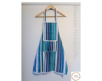 Apron - blue stripes