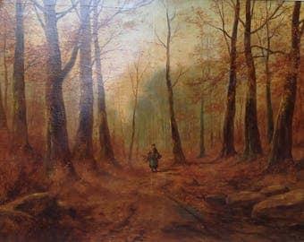 Large Barbazon Painting