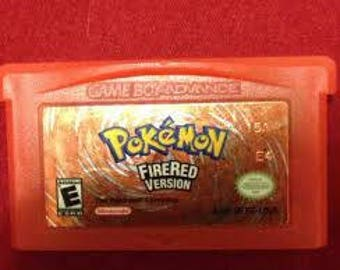 Reproduction Pokemon Fire Red Cartridge