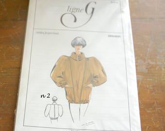 PATTERN G Jacques Garat Vintage creations line.