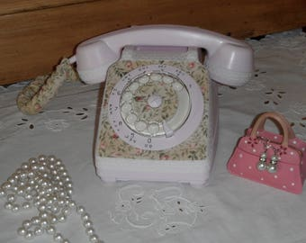 80 new Shabby chic vintage telephone