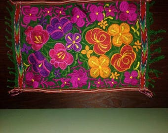 Mexican atmosphere in your home!  Hand trimmed placemat
