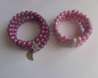 Pearl memory bracelet