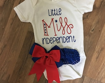 Miss Independant Onesie