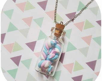 "Necklace greed flask ""candy box (2)"