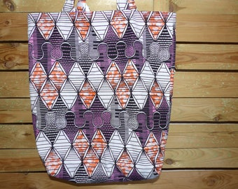 African fabric tote bag tote bag