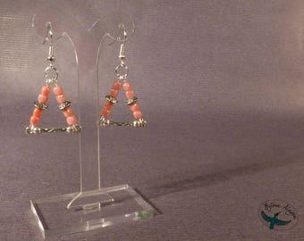 Geometric - Triangle earrings