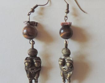 Neolithic Mother Goddess earrings