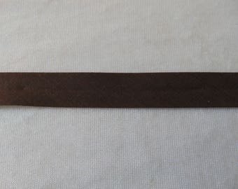 Plain, Brown through dark, width 40/20 mm (Bi-P011)