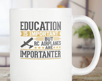 RC Planes Coffee Mug Funny Gift Idea