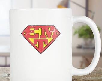 EMT Emergency Medical Technician Coffee Mug Gift Funny