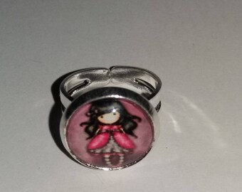 Adjustable ring for girl