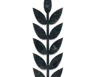 Garland of leaves - decorative mirror