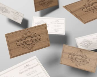 Design of eco business cards