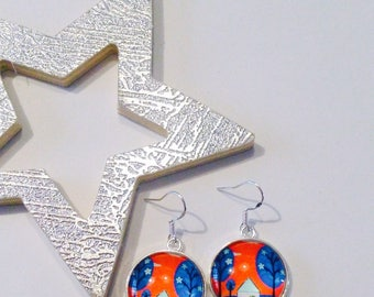 Earrings in the Woods home
