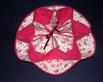 very decorative fancy bread basket