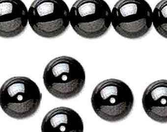 1 lot of 45 hematite non magnetic 10mm beads