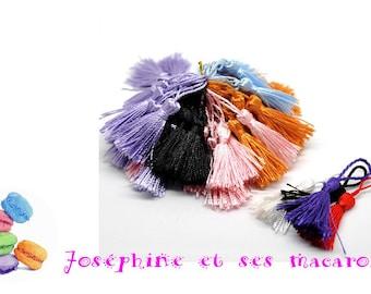Purple 1 size 4 to 5 cm tassel