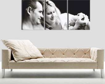 Canvas triptych evolution 3 x(30x40) frame 3D (28 mm)