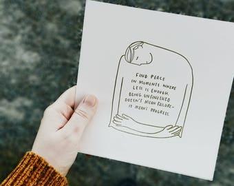 Less is Enough Print