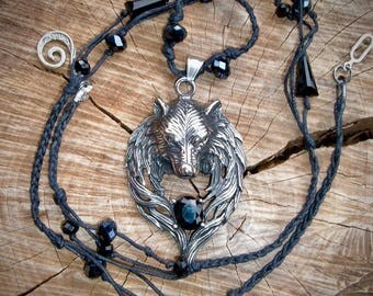 Wolf necklace is ' are you?