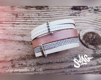 Rosita leather cuff