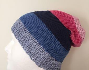 LGBTQ Omnisexual Pride Slouchy Beanie Hat