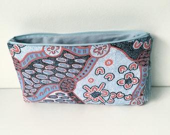Original makeup bag with native patterns