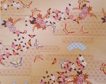 10 sheets Japanese origami, traditional motifs 15 x 15 cm / 70 g