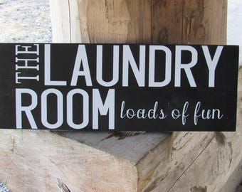 The laundry room loads of fun