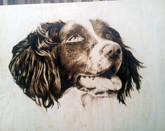 Pyrography Pet Portraits