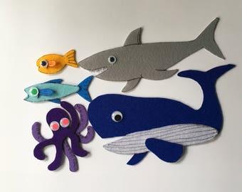 Slippery fish set