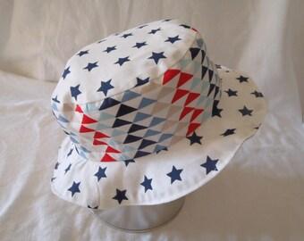 Hat - Reversible bucket Hat - 9-12 months (48 cm in diameter)