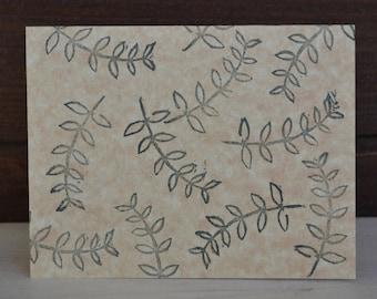 Leaf Pattern Cards