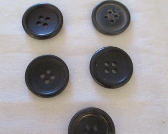 set of 5 pimples 1.7 cm