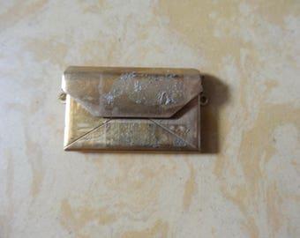 Brass bag charm