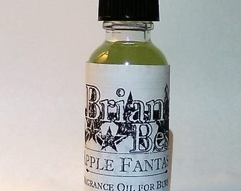 Apple Fantasy Scented Incense or Fragrance Oil Formulated for Burners or Warmers - Premium Grade & Quality!