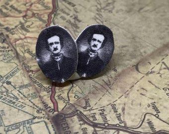 Edgar Allen Poe Earrings