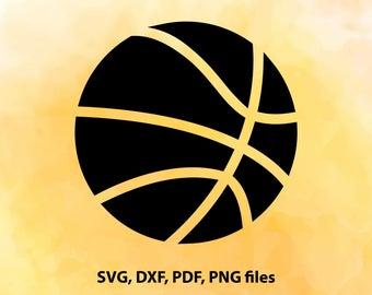 Basketball SVG File, Basketball ball svg, Basketball ball Cut File, Cricut, Cameo File,  Silhouette, Basketball ball vector art, Sport balls