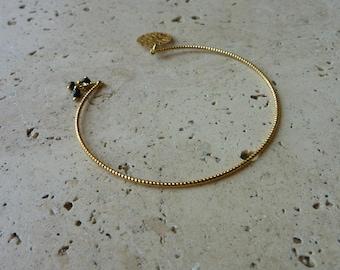 JAIPUR black gold bracelet