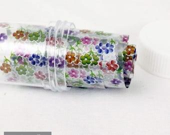 Transfer Foils, paper transfer Nail art flower n ° 1