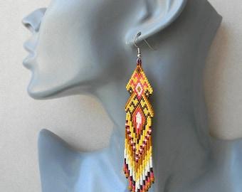 new! beautiful native American Navajo earrings