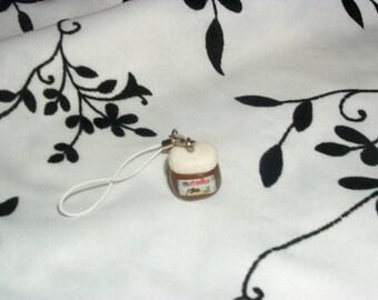 phone charm / strap crime Pot'a Fimo