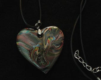Necklace and pendant heart - and so forth and so