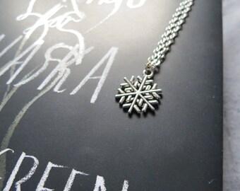 Snowflake Necklace 2